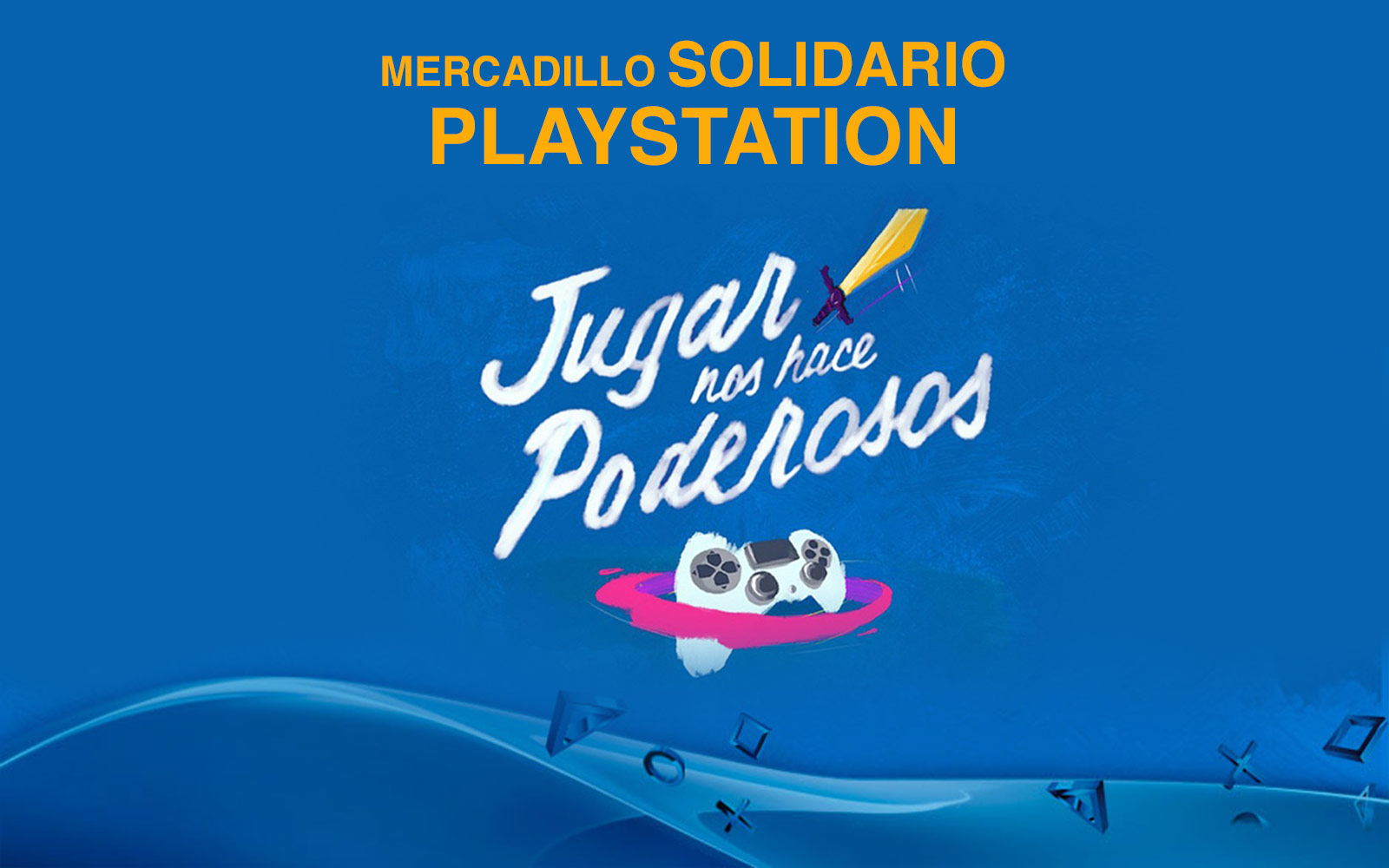 Mercadillo solidario de PlayStation a beneficio de la Fundación Rafa Nadal