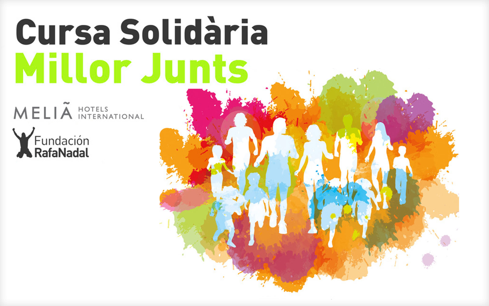 The Foundation and the first edition of the 'Millor Junts' charity race