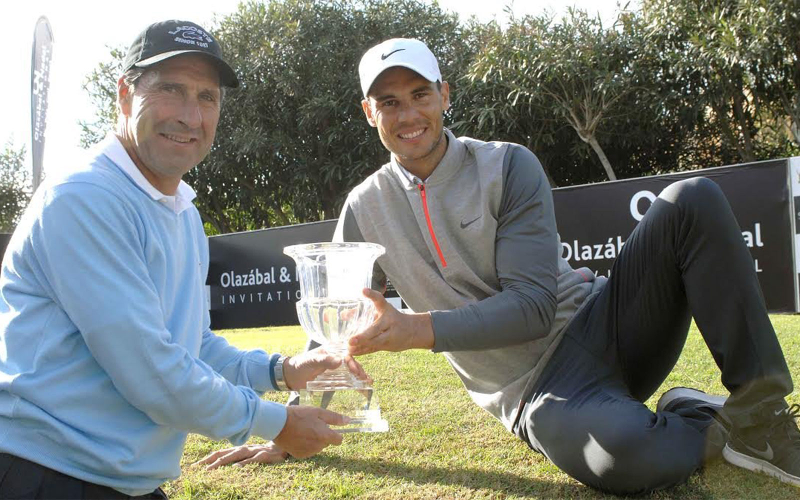 Nadal & Olazábal, united in aid of the most disadvantaged