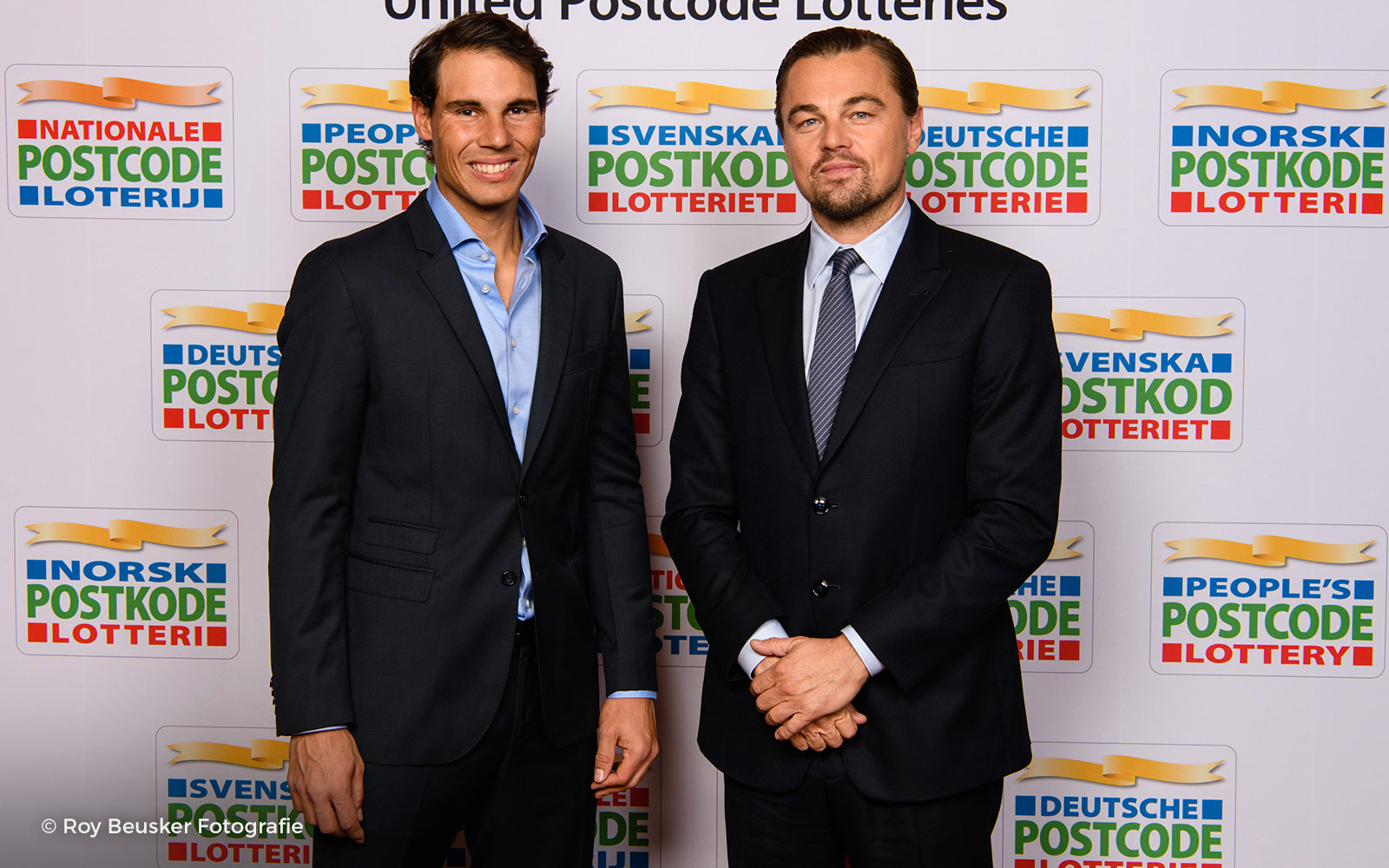 Rafael Nadal attends the Postcode Lotteries gala