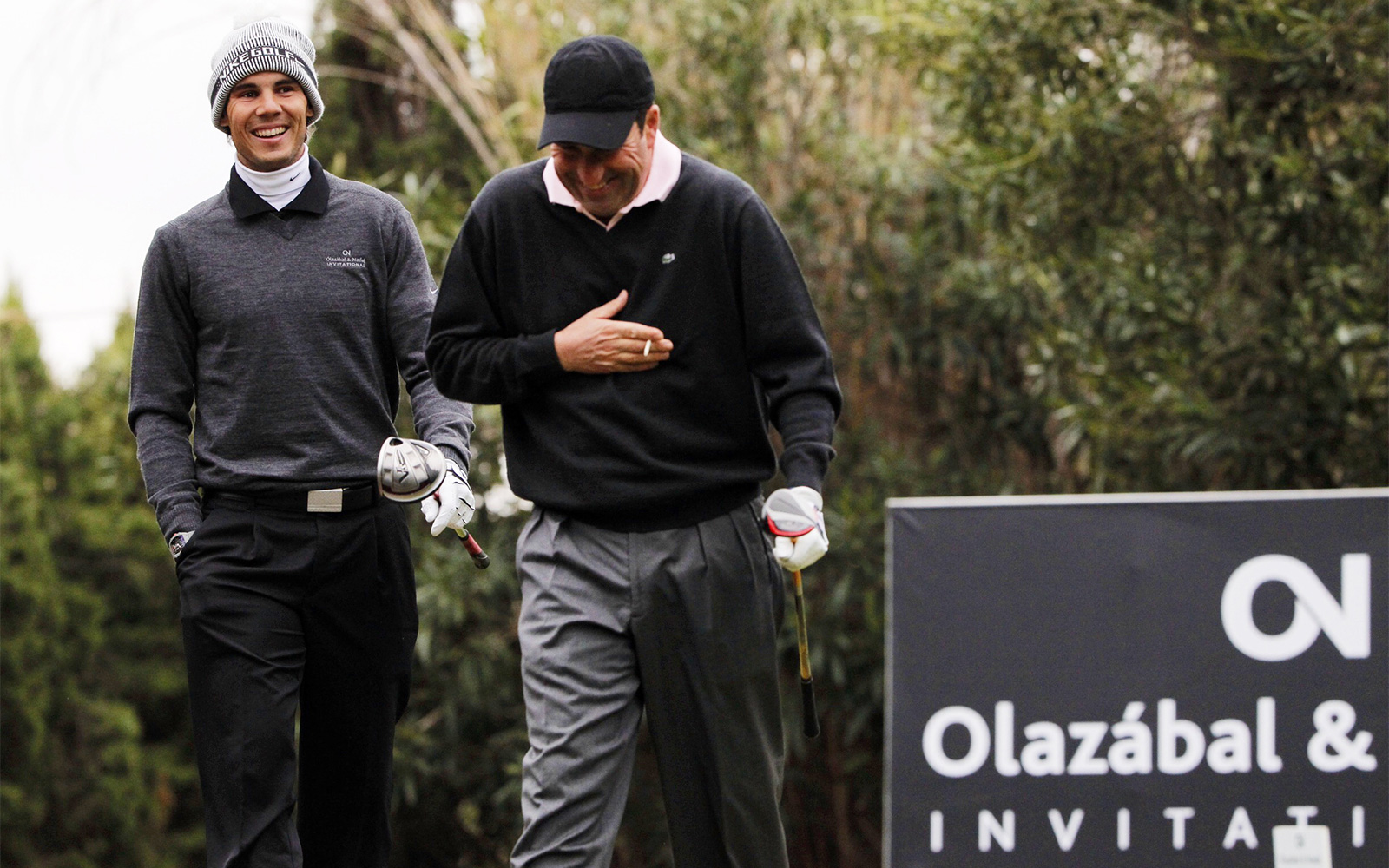 Golf and solidarity together in the Olazábal&Nadal Invitational