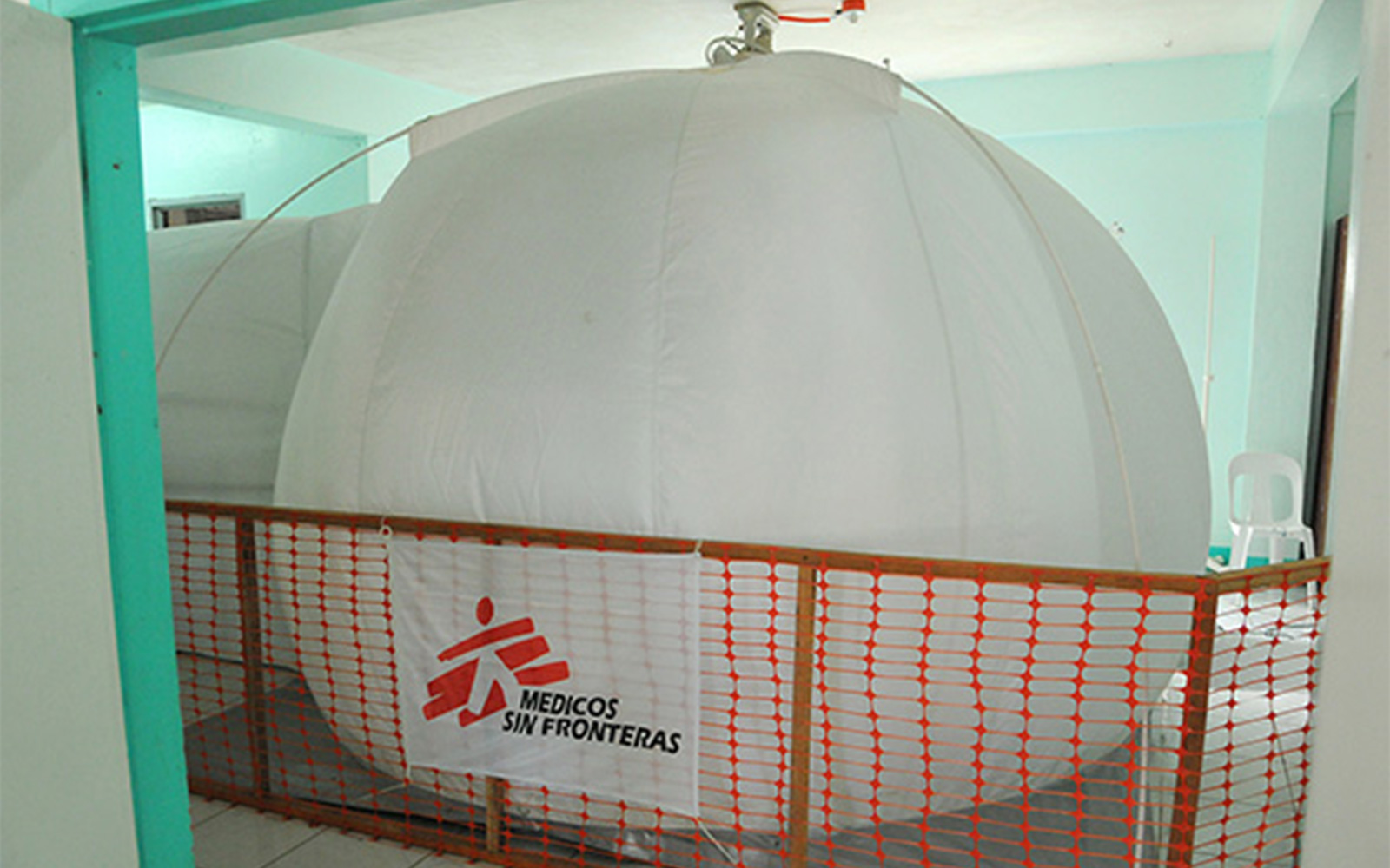 Bubble Pure Air, used by MSF as mobile operating rooms