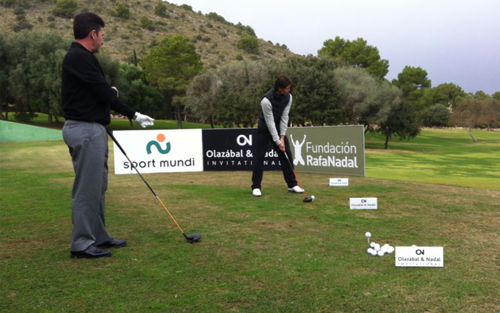 Nadal and Olazábal united for Golf Charity