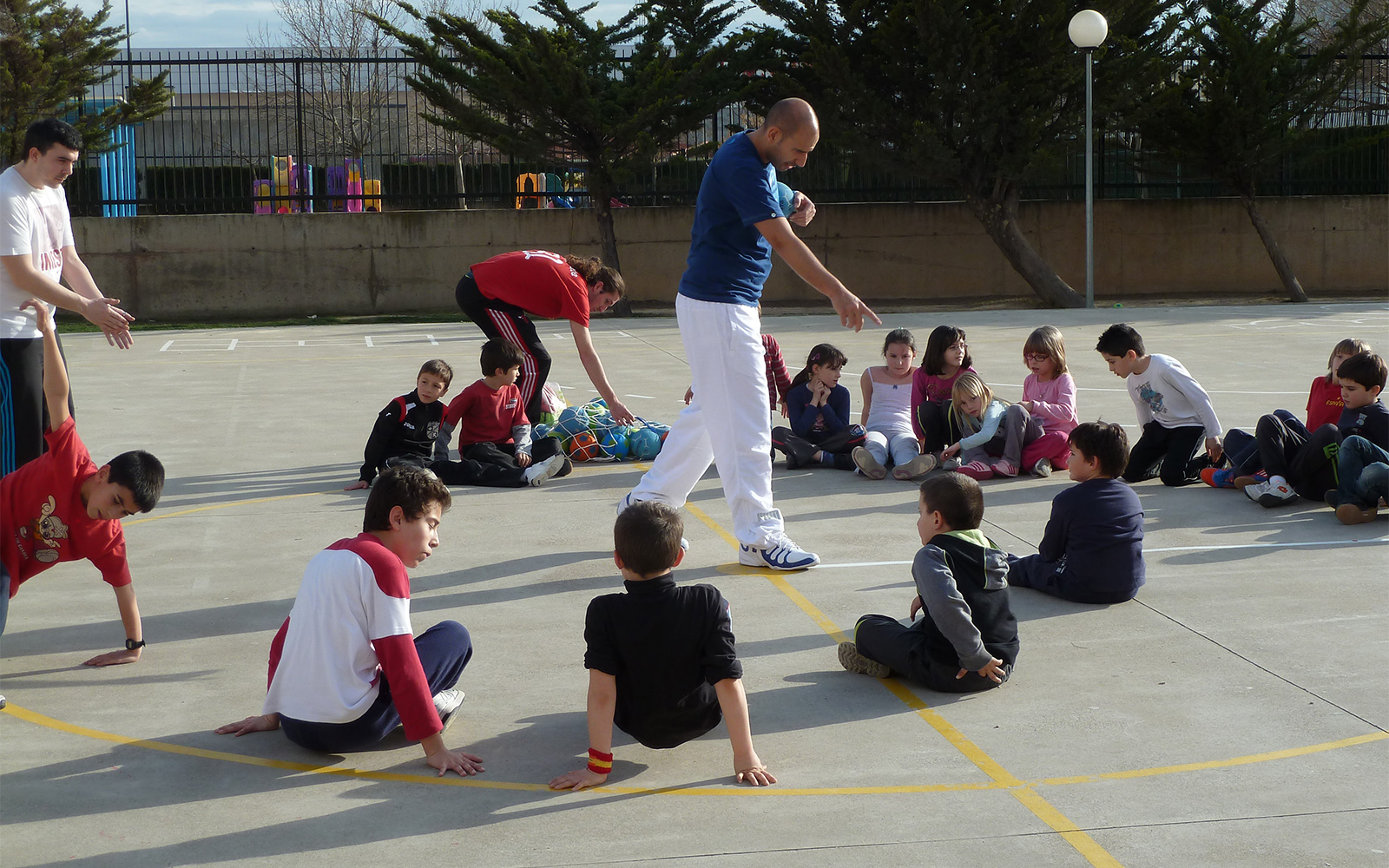 Beneficiaries of Sport and Integration in Sant Adrià, Barcelona