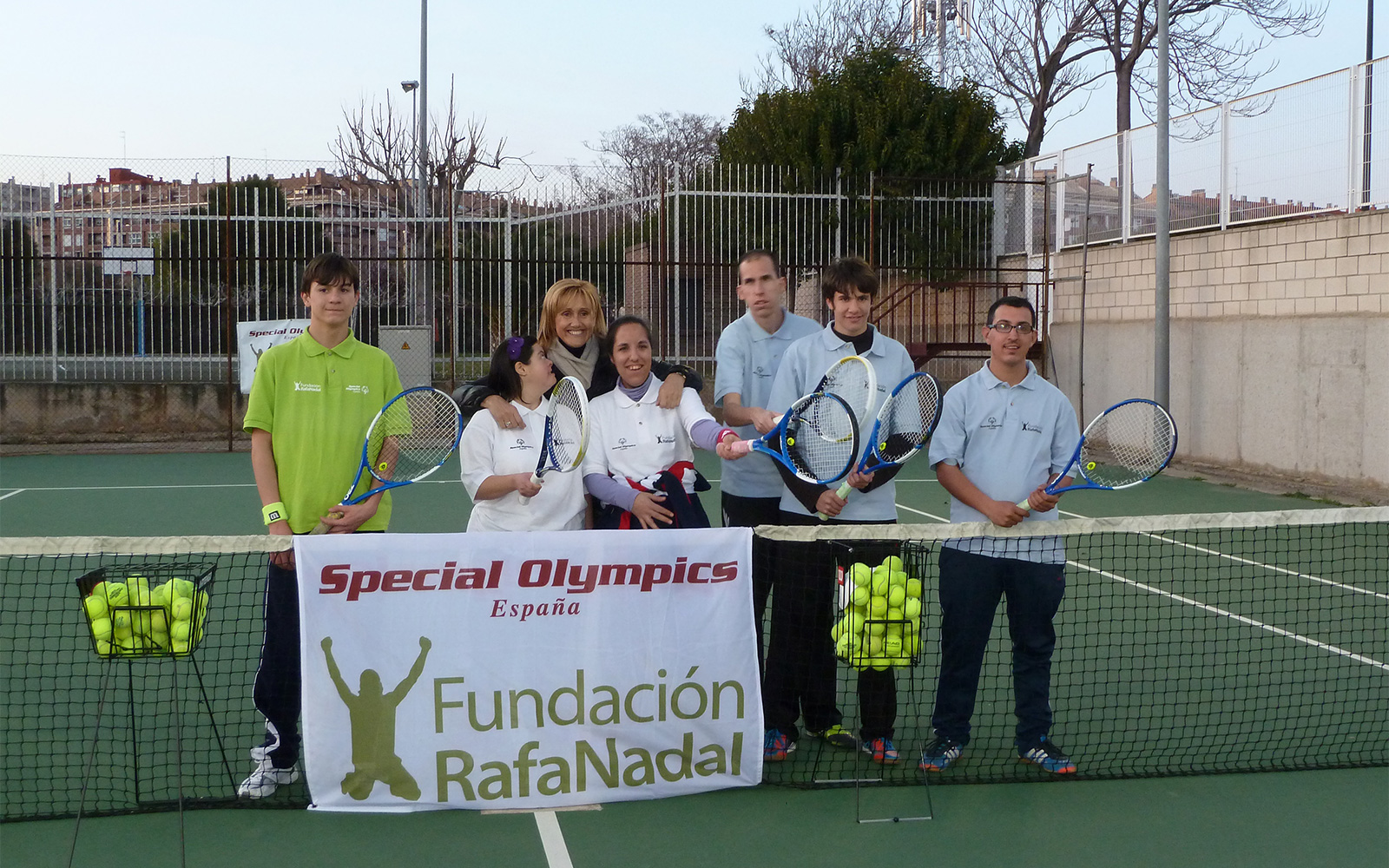 Beneficiaries More than Tennis in Zaragoza